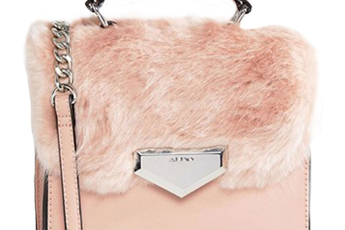 Moraine Faux Fur Cross Body Bag