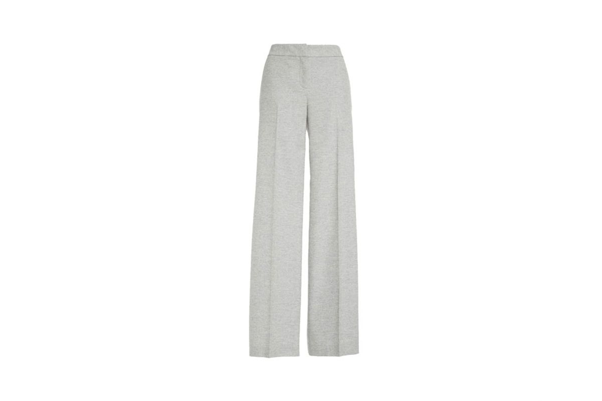 Winter Flannel Wide Leg Pants