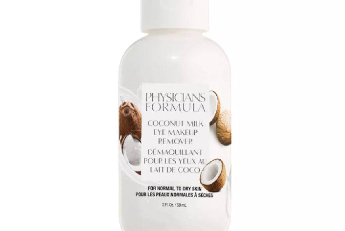 physicians formula coconut milk eye makeup remover