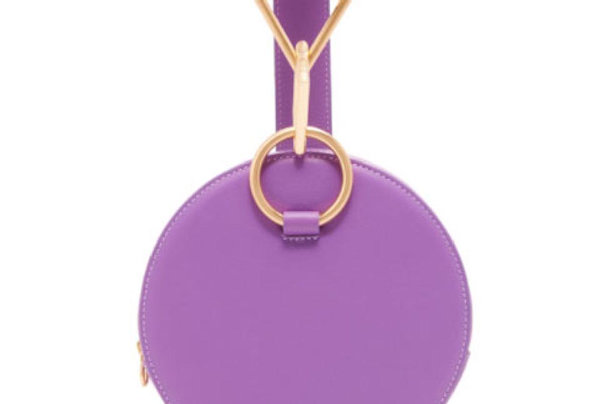 Azar Clutch Bag in Purple