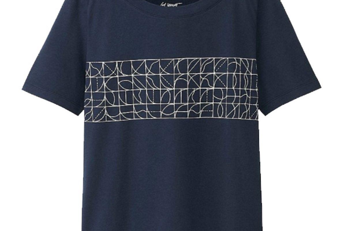Women SPRZ NY Super Geometric T-Shirt (Sol Lewitt)