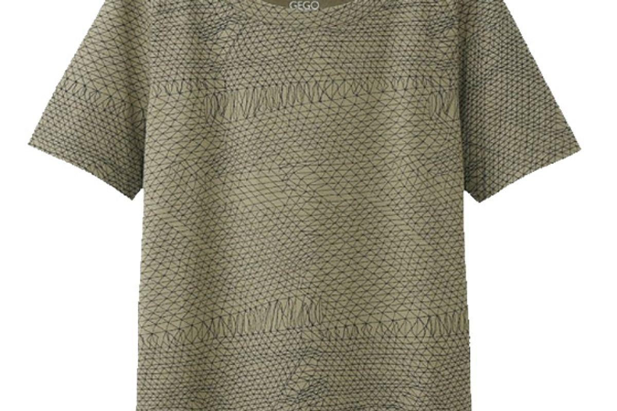 Women SPRZ NY Super Geometric Graphic T-Shirt (Gego)