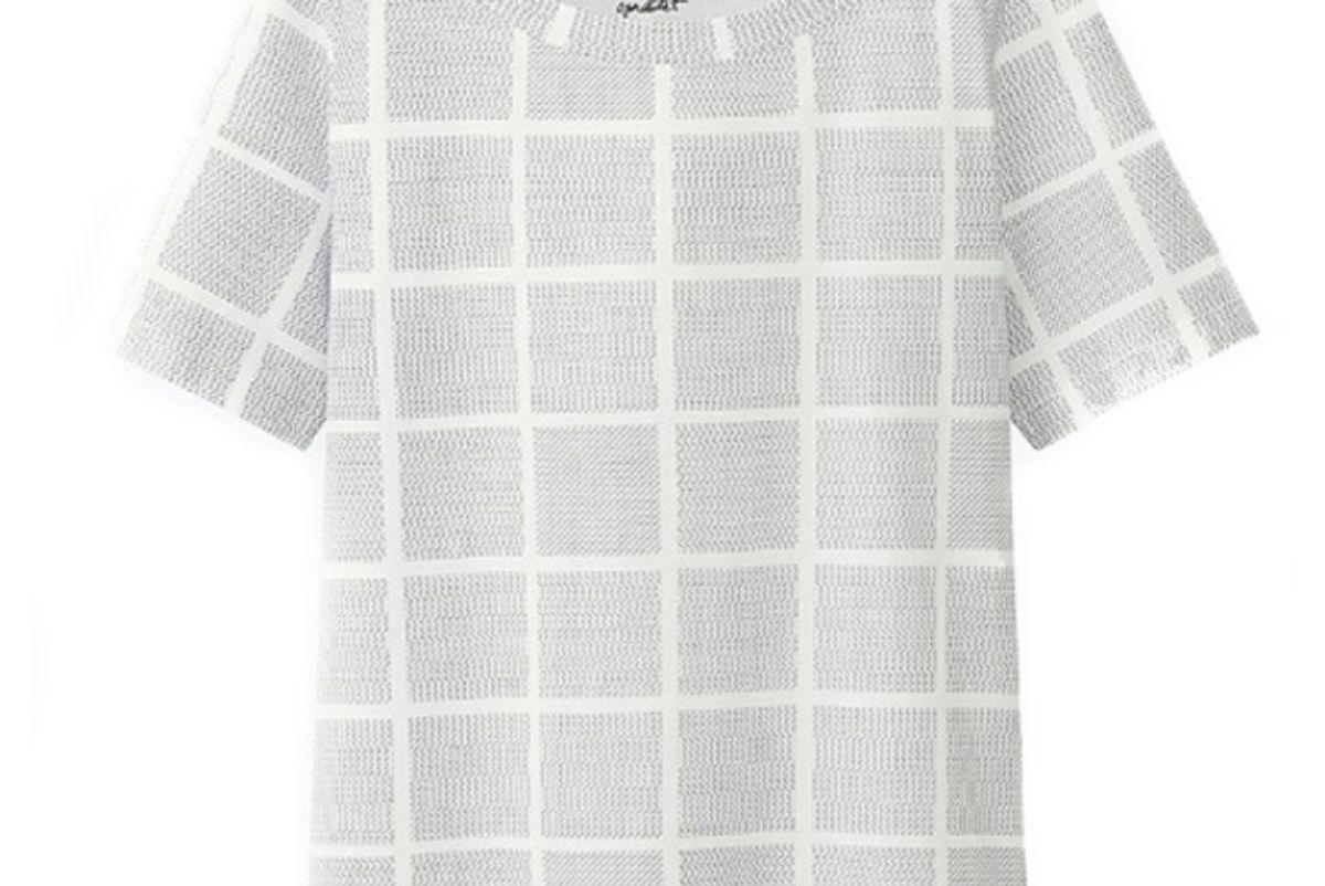 Women SPRZ NY Geometric Graphic T-Shirt (Francois Morellet)