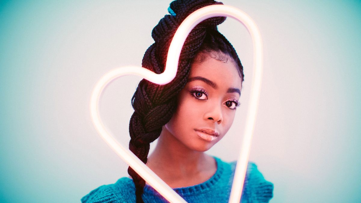 15-Year-Old Skai Jackson Knows How to Shrug Off Haters and Splurge on Céline