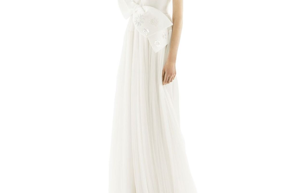delpozo pret a couture gown