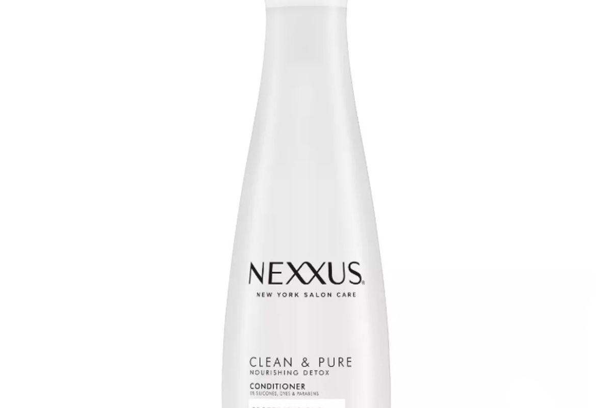 nexxus clean and pure nourishing detox conditioner