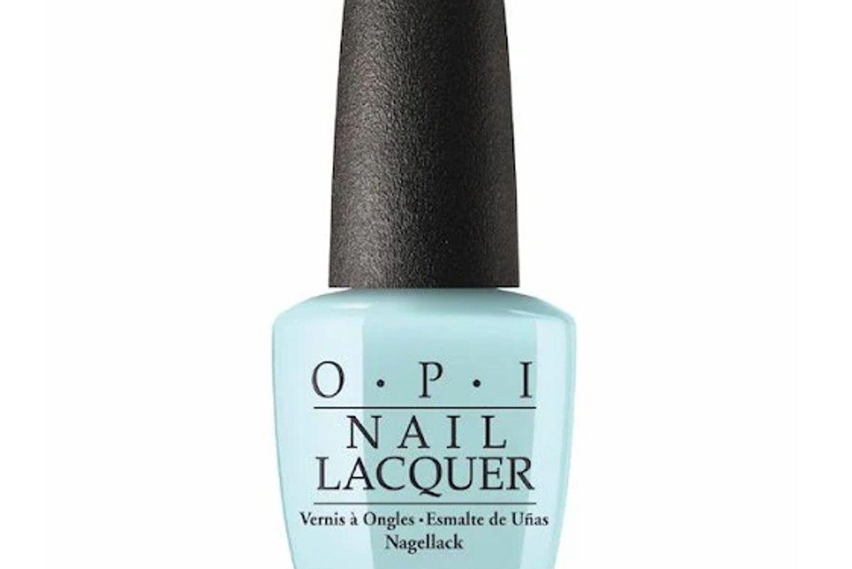opi suzi without a paddle nail polish