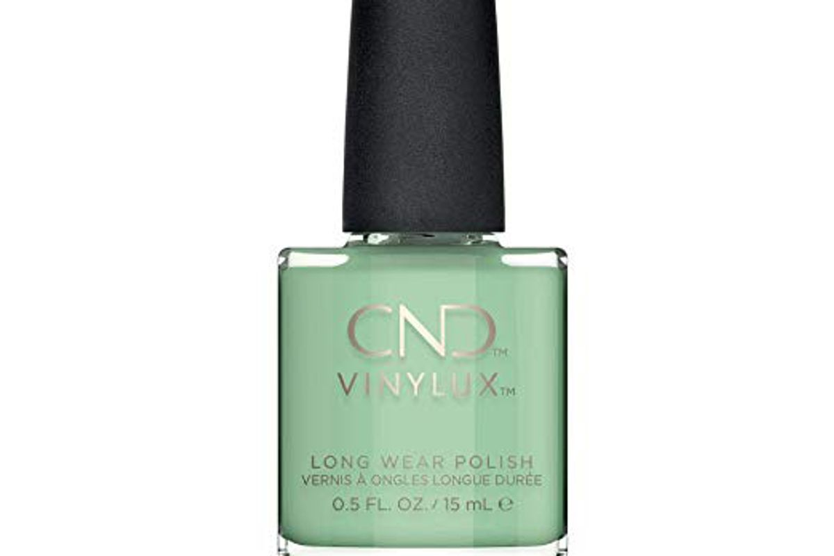 cnd vinylux mint convertible nail polish