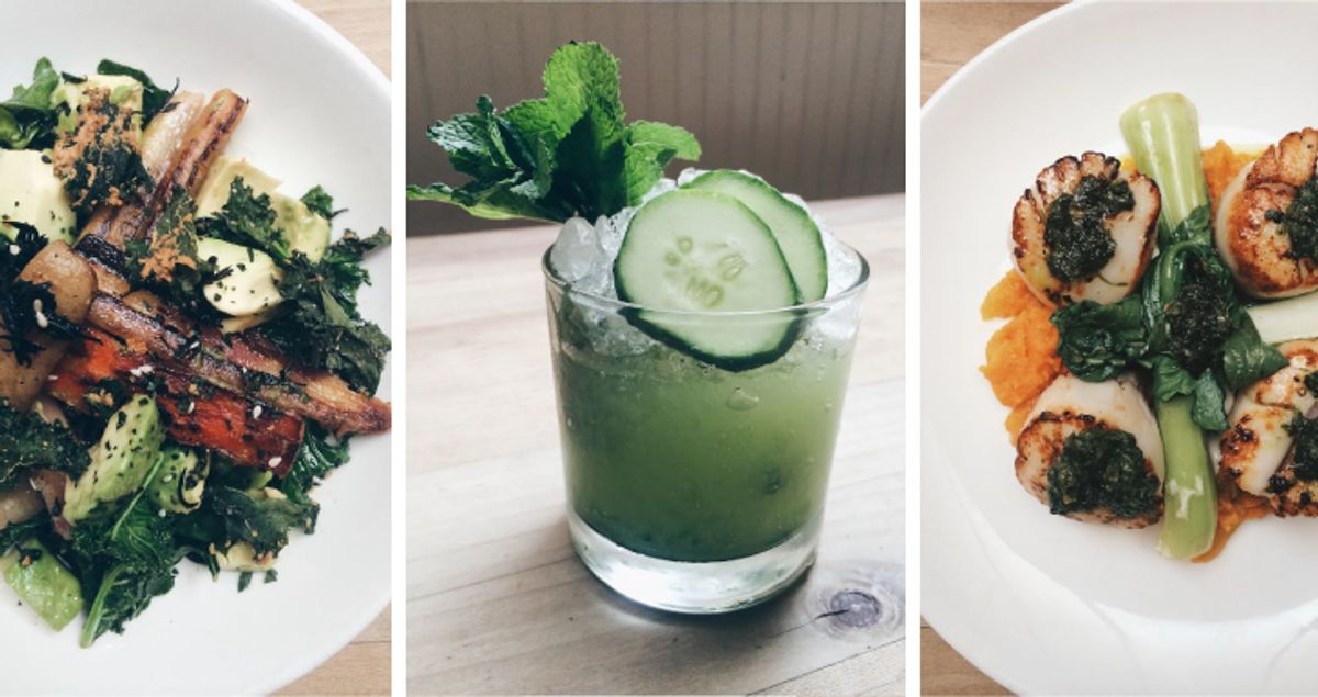 2 Gourmet Dishes (& One Cocktail) to Make Your Boyfriend