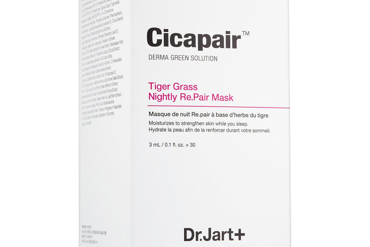 Cicapair Tiger Grass Nightly Re.Pair Mask
