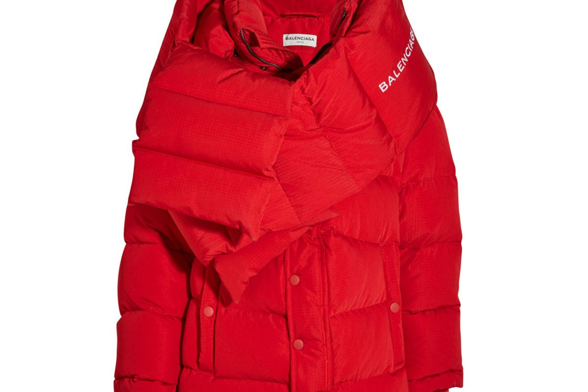 Oversized Quilted Shell Jacket