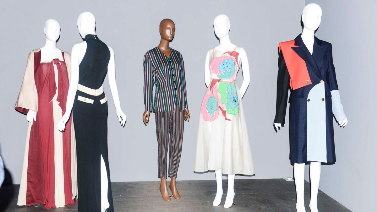 """A Look Inside The Museum at FIT's """"Black Fashion Designers"""" Exhibit"""