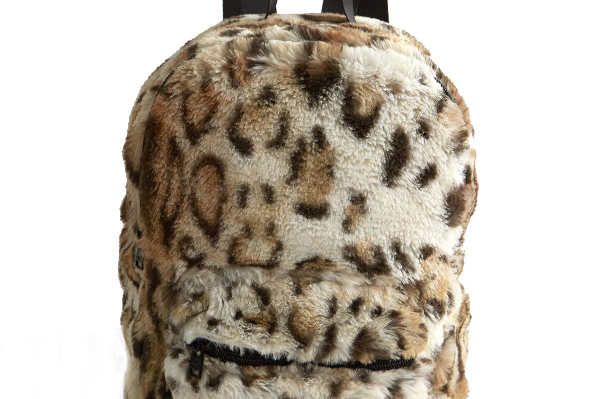 Faux Fur Mini Backpack