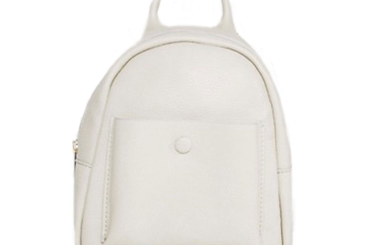Glamorous Mini Pocket Backpack