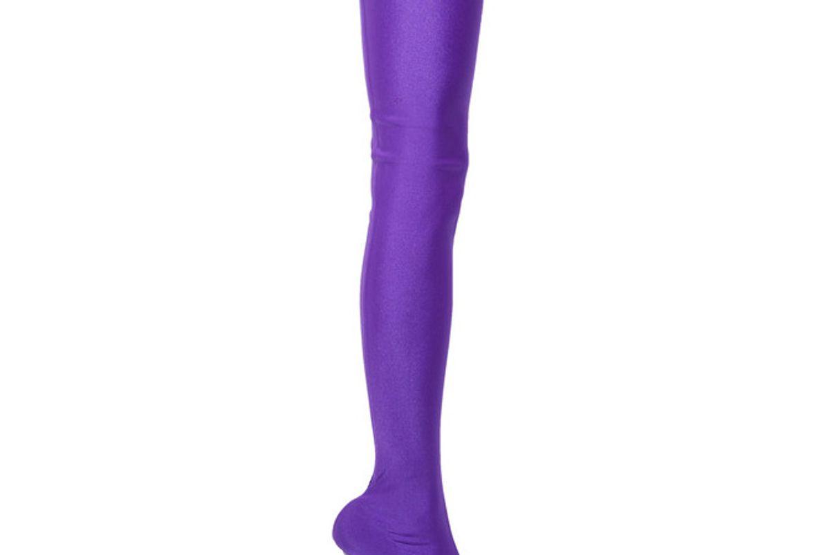 Spandex Thigh Boots