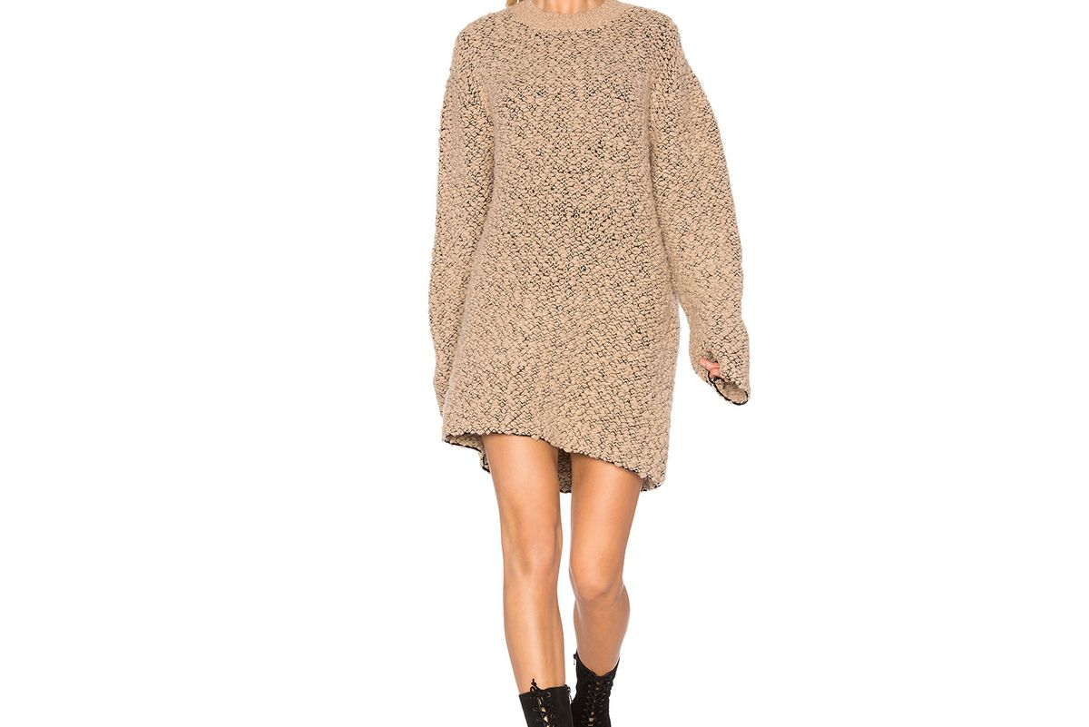Oversized Teddy Boucle Sweater