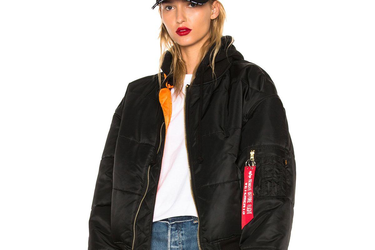 Reversible Bomber Jacket