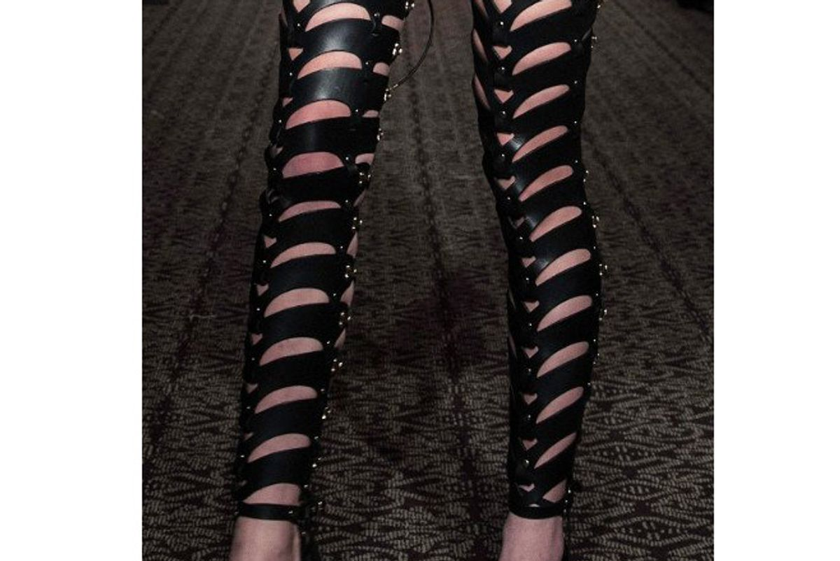Thigh High Cut-Out Bootstraps