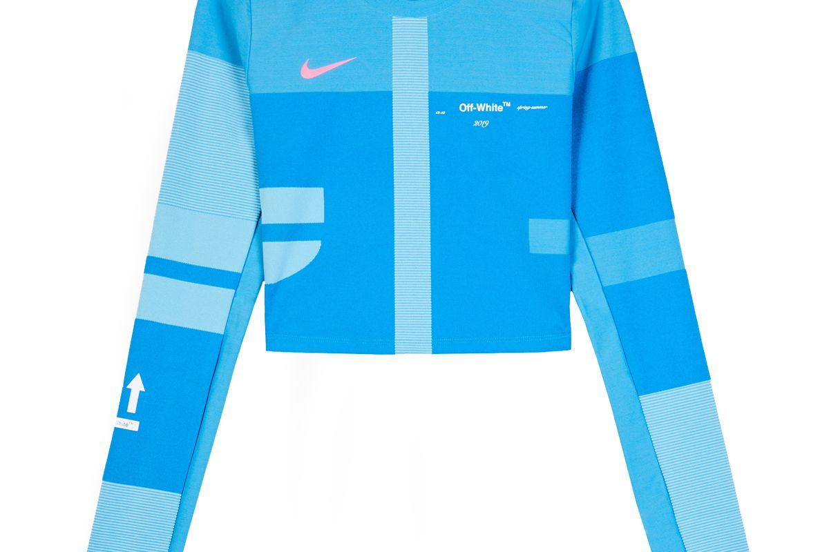 nike x off-white easy run top