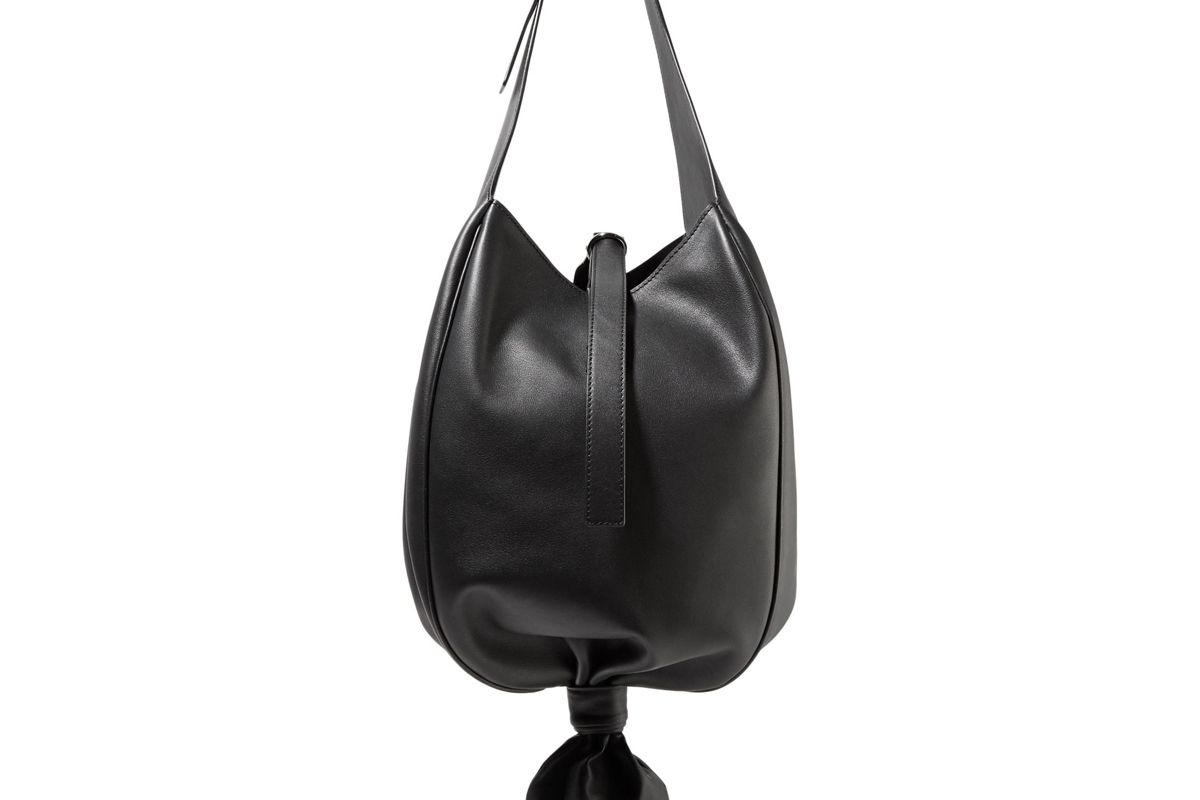 jw anderson leather knot bag