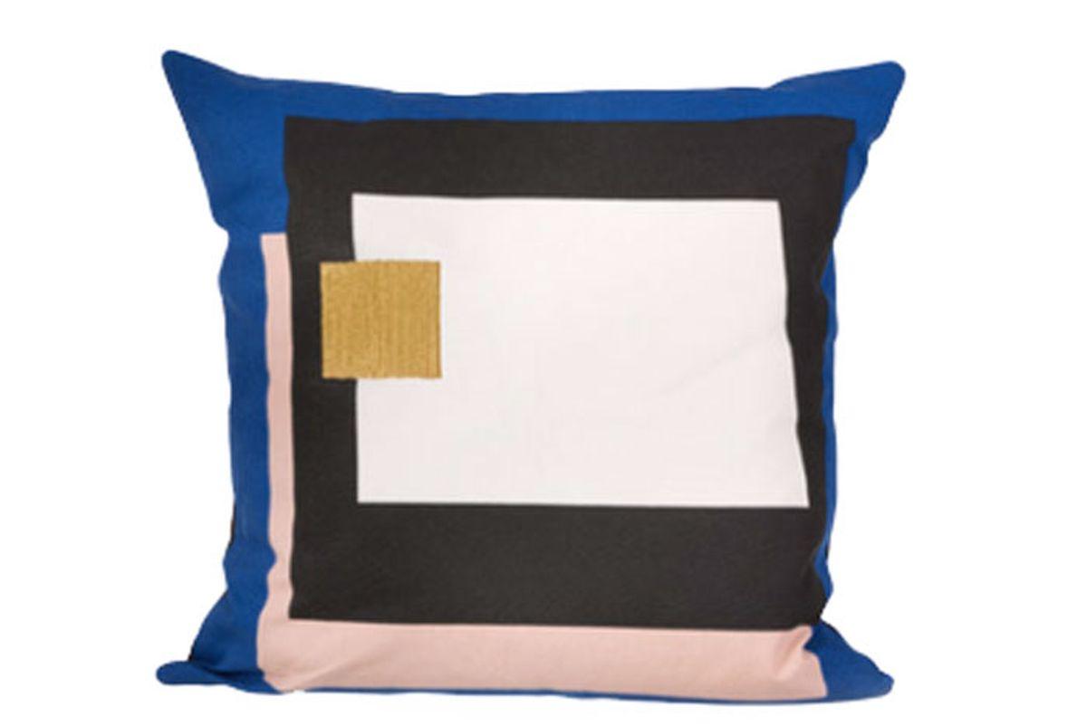Fragment Blue Cushion