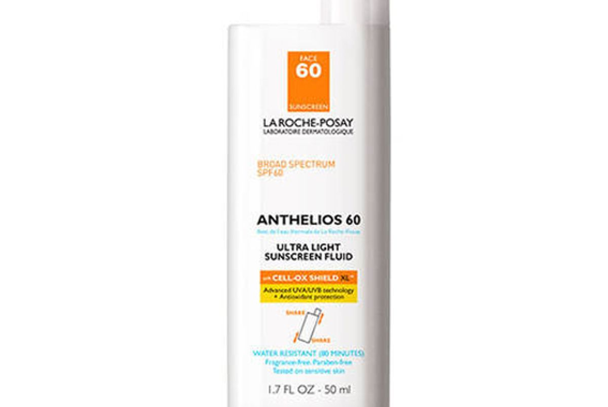 la roche posay anthelios ultra light fluid facial sunscreen