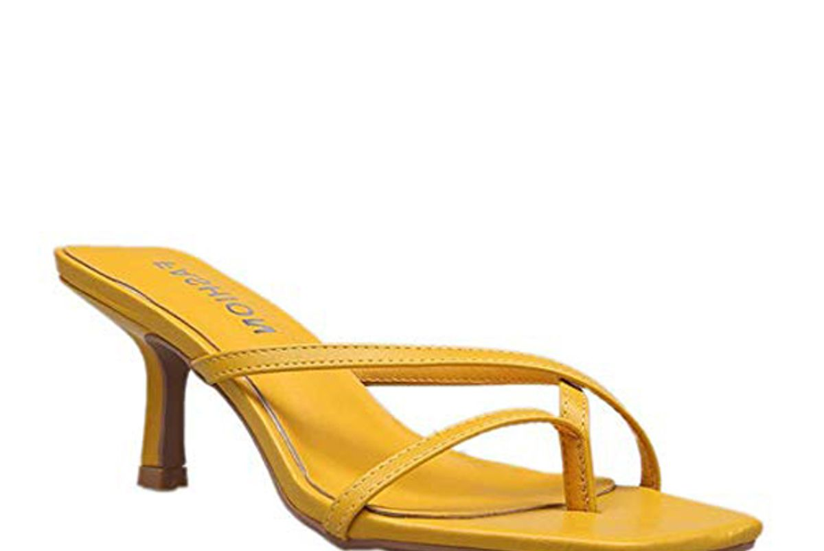 amazon womens kitten heel flip flops slip on thong sandals stiletto party slippers