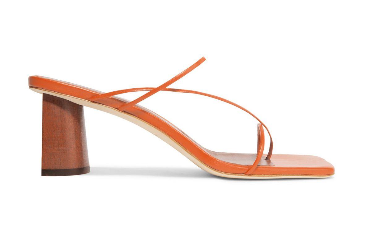 rejina pyo harley leather sandals