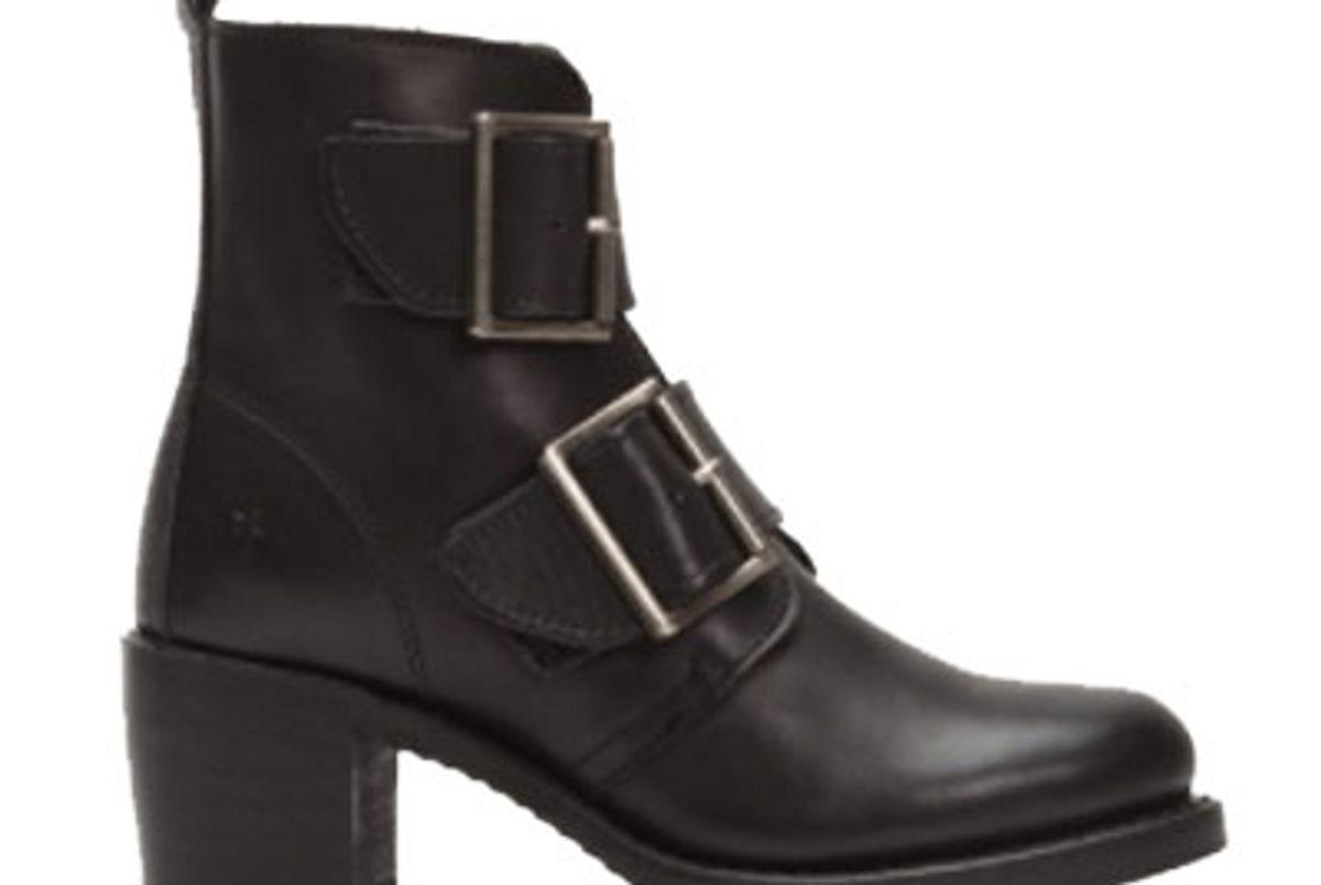 Sabrina Double Buckle Boot