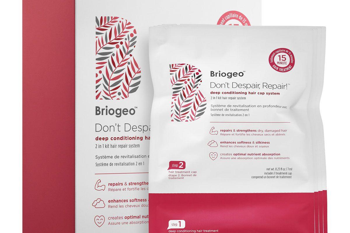 briogeo don't despair repair deep conditioning hair cap system