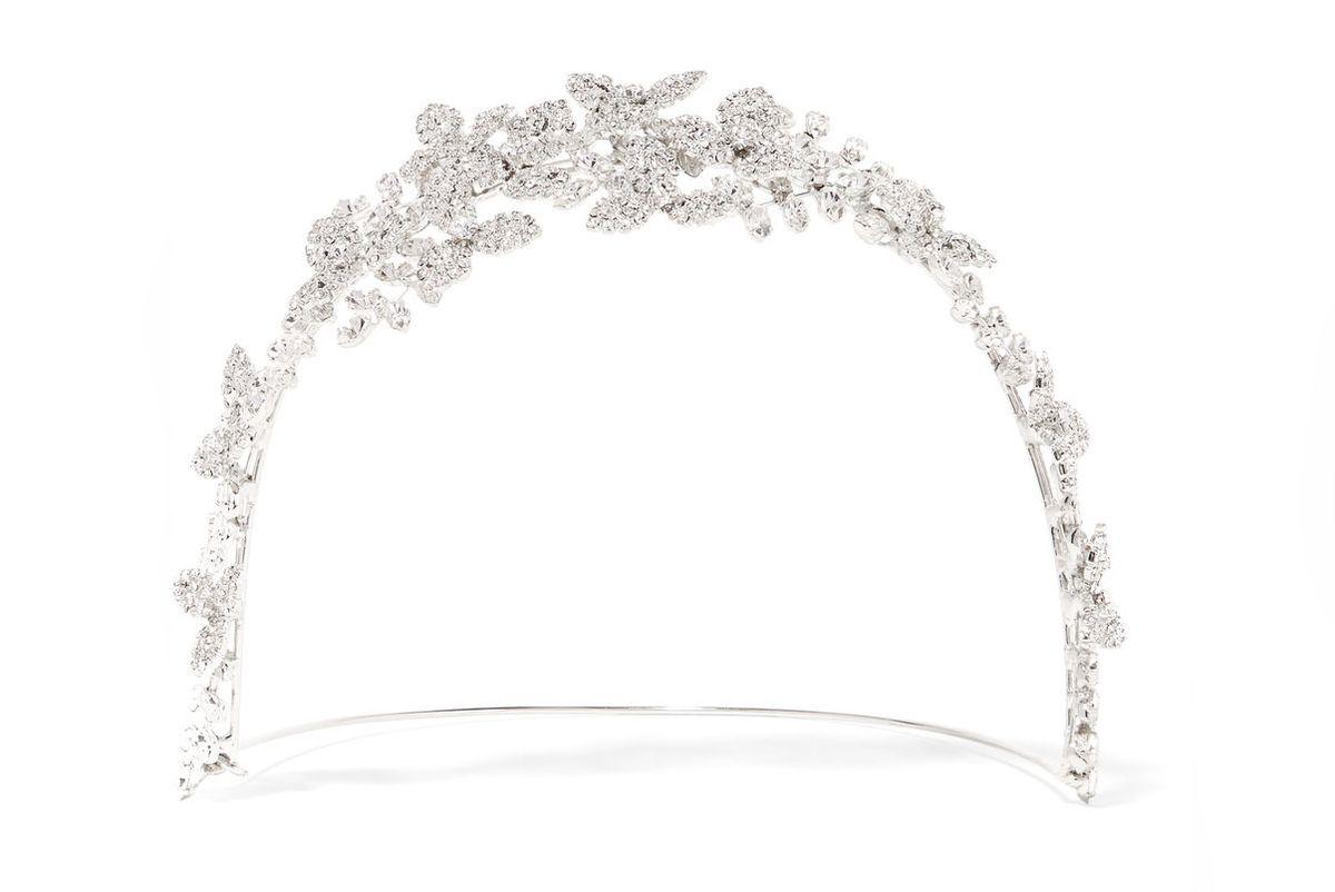 Clementine Rhodium-Plated Swarovski Crystal Headband