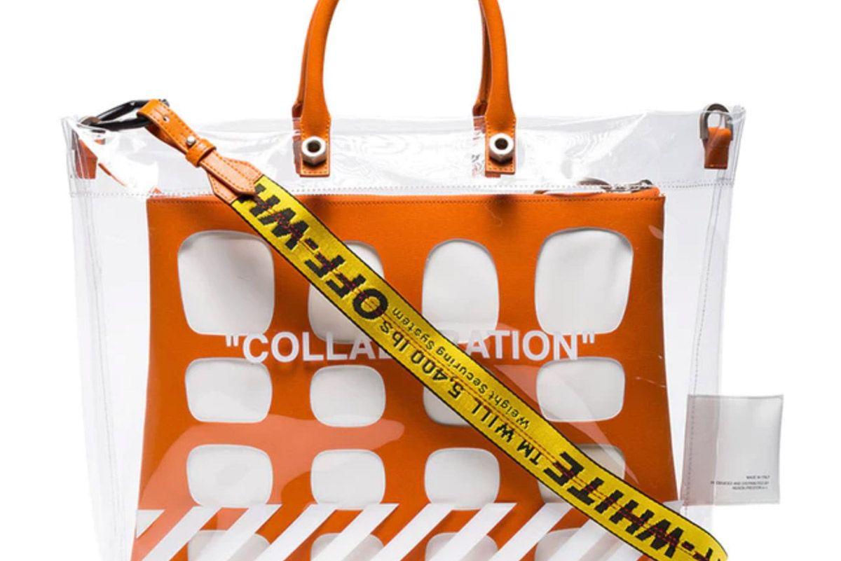 heron preston virgil abloh off-white collaboration bag