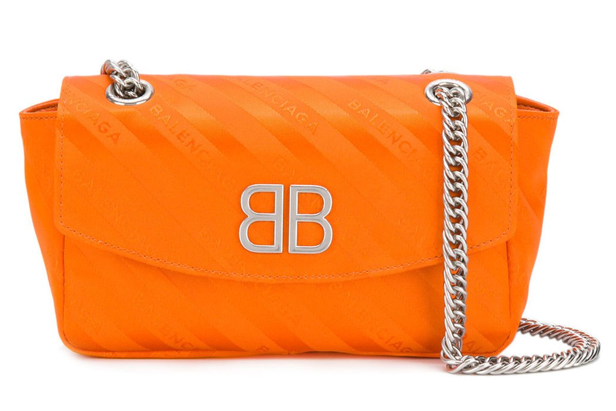 balenciaga blanket shoulder bag