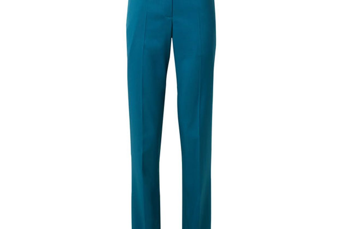 calvin klein 205w39nyc wool slim-leg pants