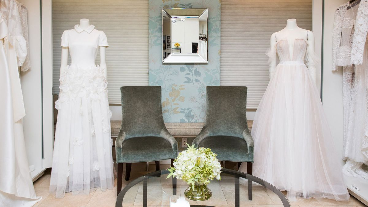 Inside One of NYC's Most Luxurious Bridal Salons