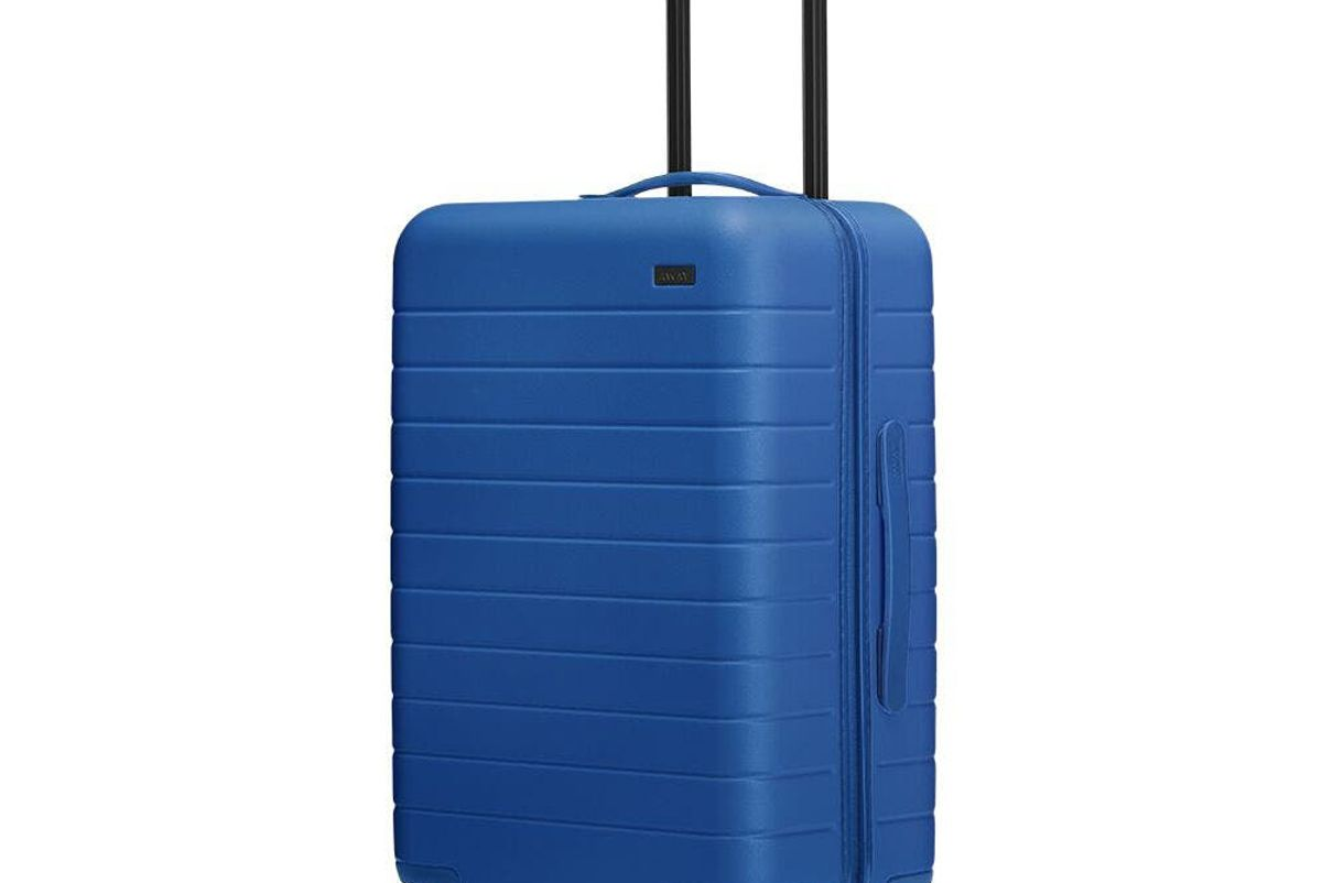 away the bigger carry on pantone luggage