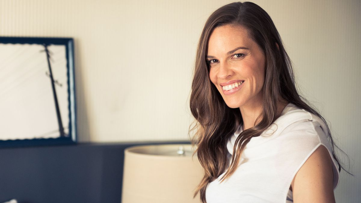 Hilary Swank Never Forgets to Pack Anything