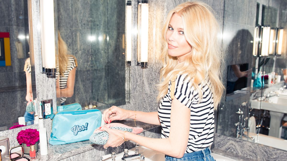 Claudia Schiffer's Sunday Morning Beauty Look Is Surprisingly Low-Maintenance