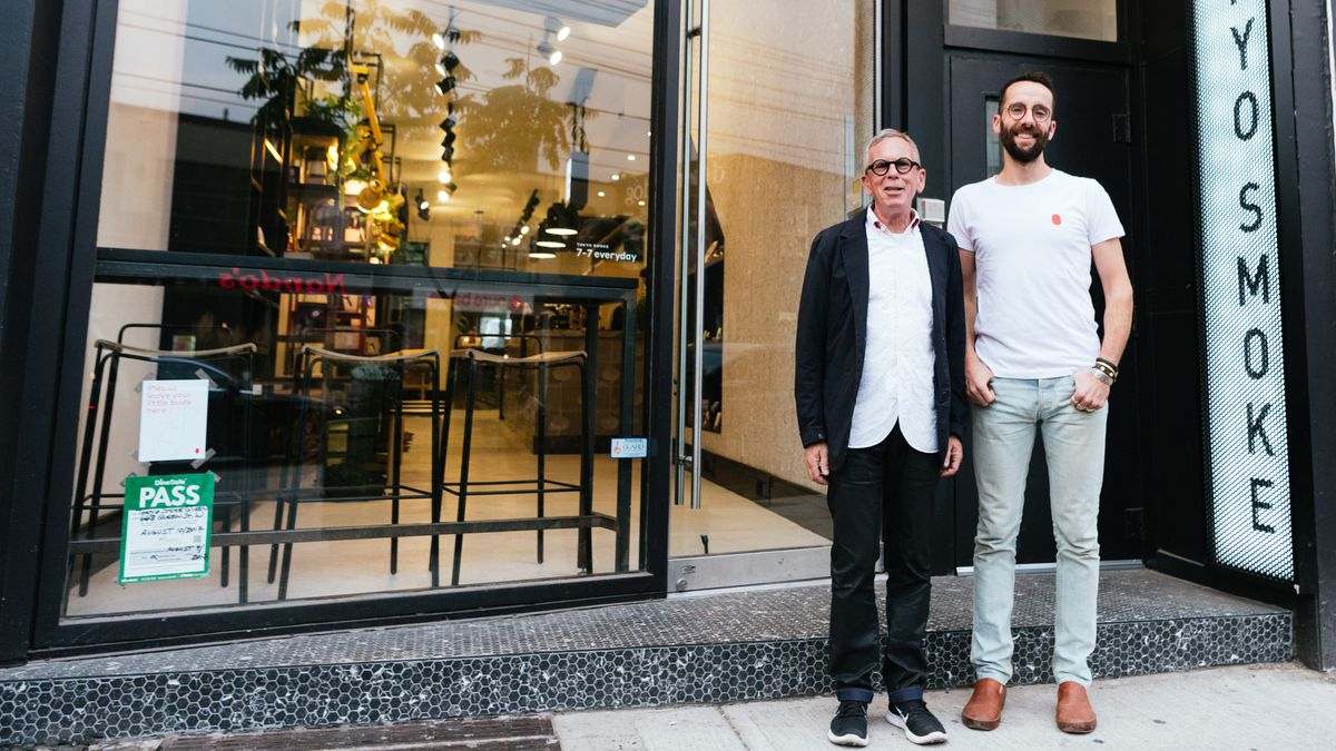 A Father-Son Duo Created the Starbucks of Cannabis