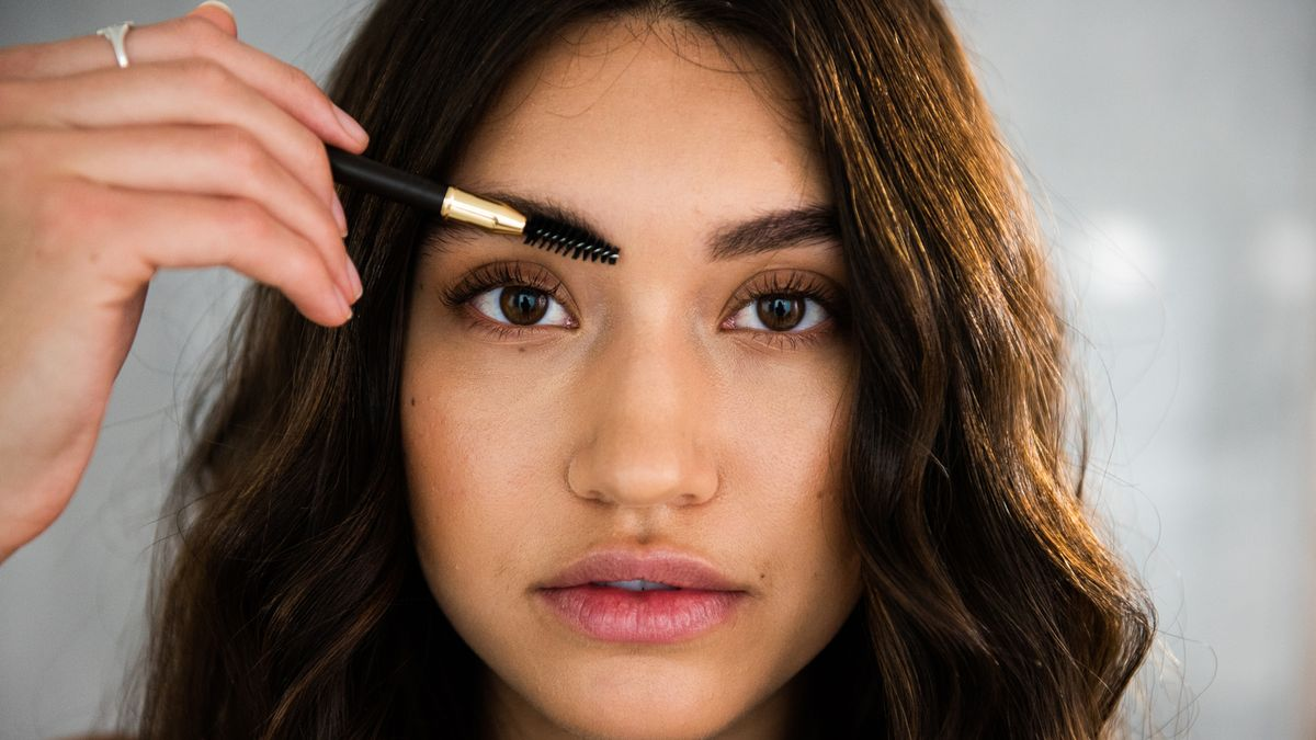 how to achieve diffused fluffy brows