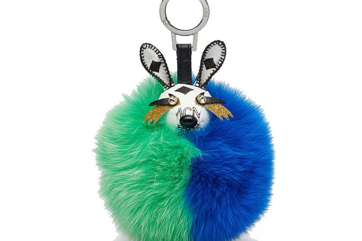 Rabbit Fur Punk Charm