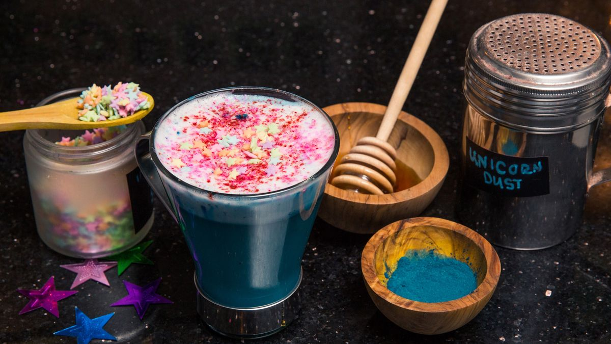 The Unicorn Latte Is Just As Pretty As It Sounds