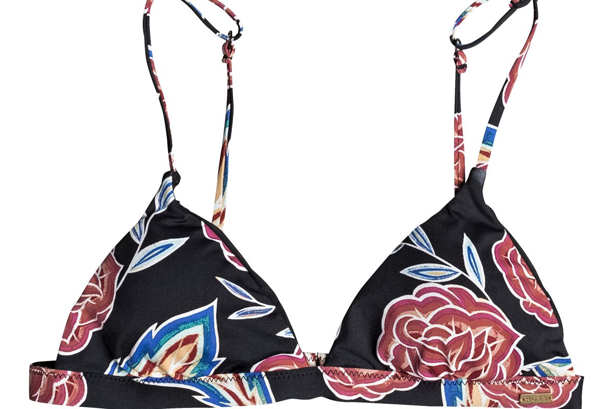 Softly Love Reversible Fixed Tri Bikini Top