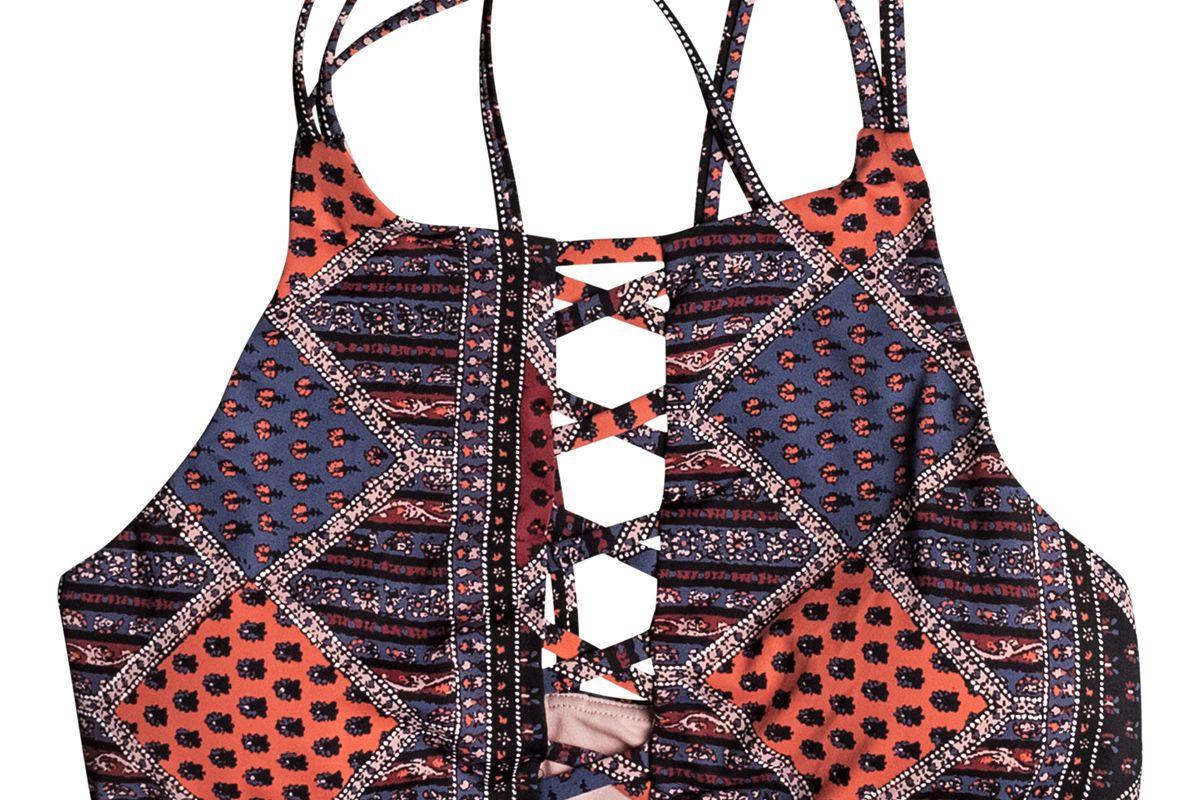 Festival Bazar Crop Bikini Top