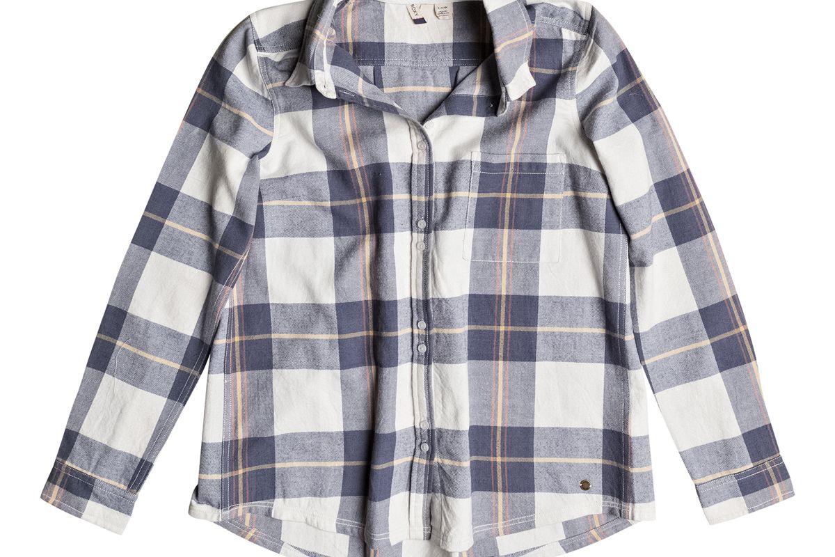 Romantic Path Stripe Long Sleeve Shirt
