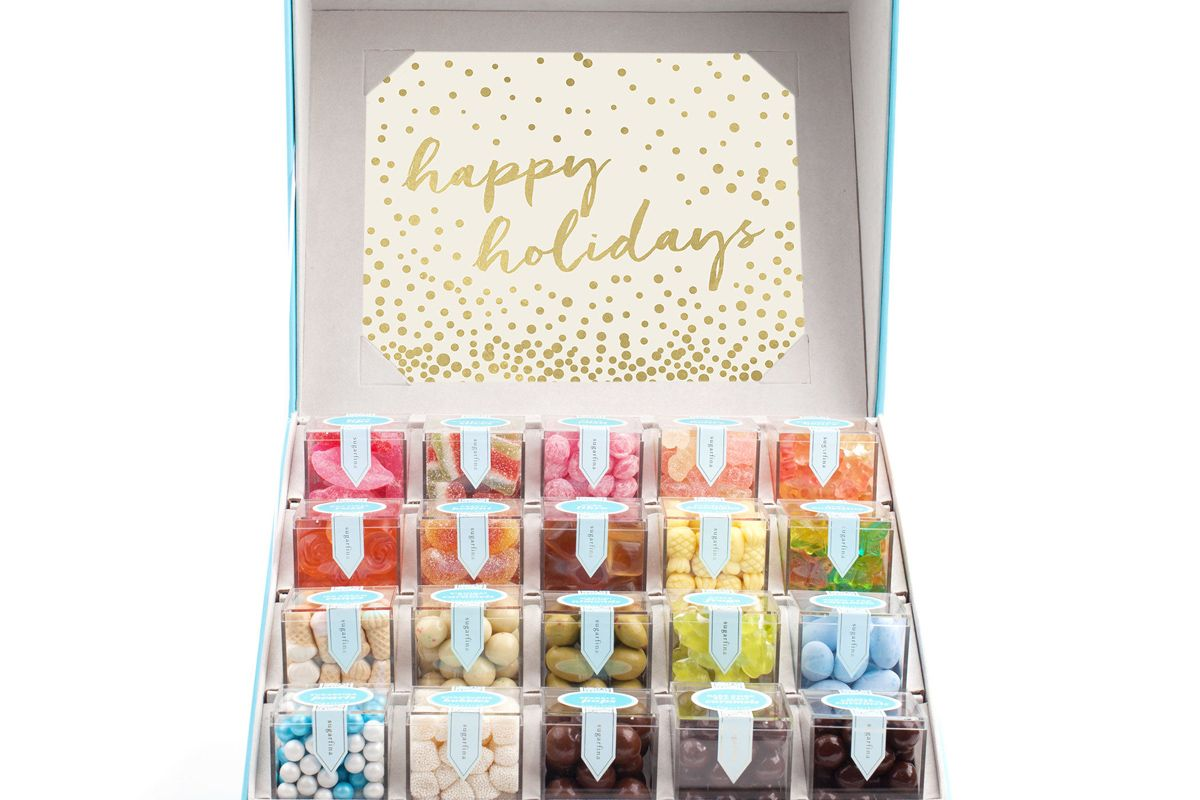 Happy Holidays Candy Trunk