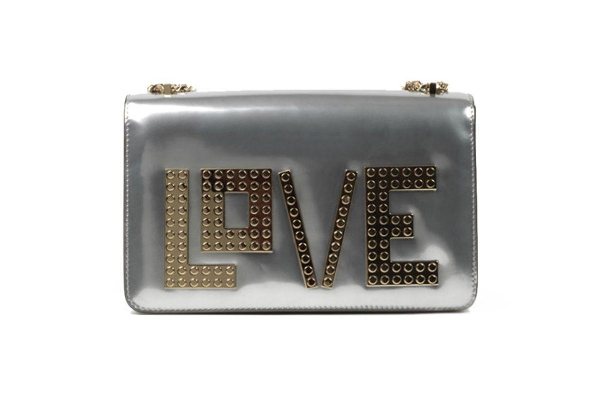 Mini Janis Golden Love Clutch Bag