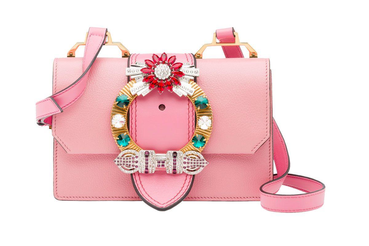 Shoulder Bag in Pink