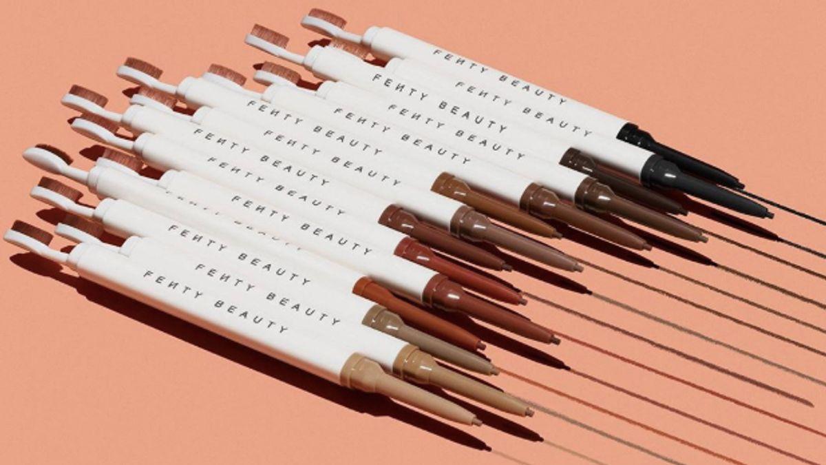 fenty beauty launch brow mvp ultra fine brow pencil & styler