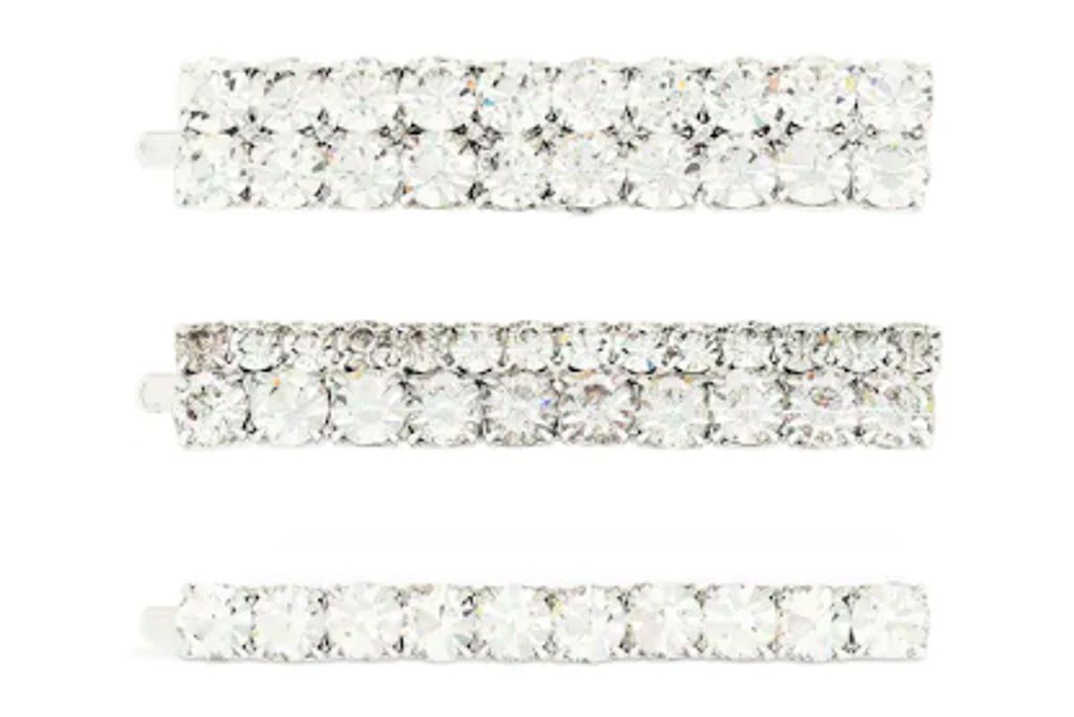alessandra rich metal crystal pin set